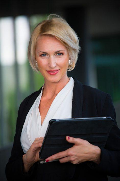 Businessportrait Frau - Fotograf Linz