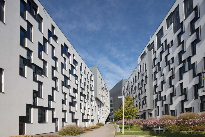 Architekturfotograf Wien WU Campus Wien