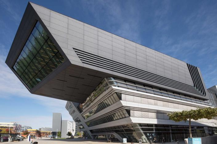 Architekturfotograf Wien WU Campus Bibliothek 04