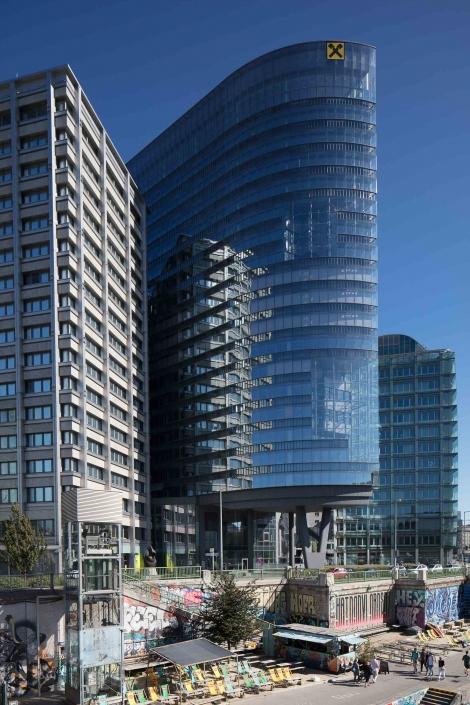 Architekturfotograf Wien * Raiffeisen Holding Hochhaus