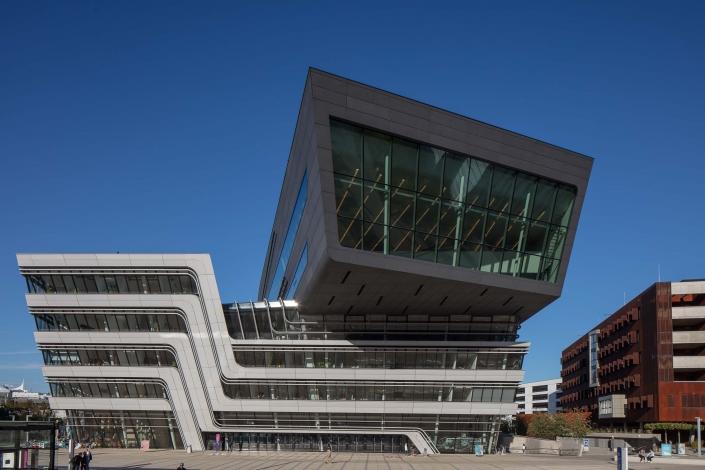 Architekturfotograf Wien WU Campus Bibliothek