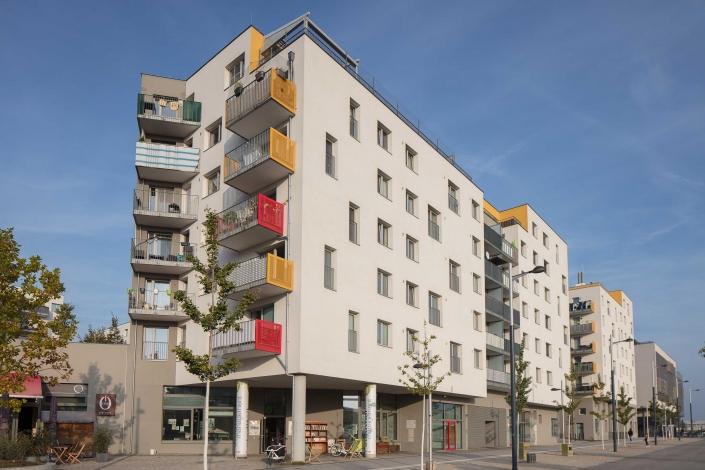 Architekturfotograf Wien * Seestadt Aspern Wohnhaus