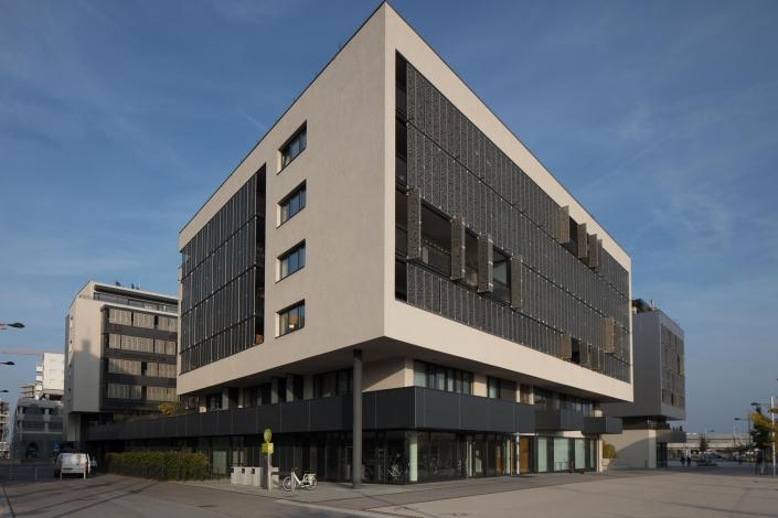 Architekturfotograf Wien * Seestadt Aspern Architektur Geschäftshaus